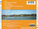 Anything Near Water - CD back cover