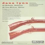 "Dana Lynn - ""guns"" - record sleeve (back)"