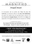 Troy Von Balthazar Magnified flyer (back)