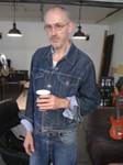 Jon in the studio