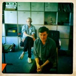 Jon & Troy at mastering session